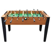Hathaway Games Hurricane 2'3'' Foosball Table; Light Cherry