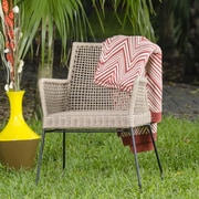 Matrix Keywest Dining Arm Chair; Latte