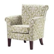Madison Park Brooke Club Chair; Sprout Green