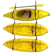 Gear Up Inc. Kayak / Canoe Storage and Portage Hang 3 Deluxe Strap Storage System
