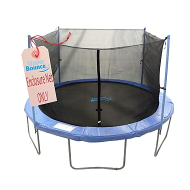 Upper Bounce 10' Round Trampoline Net Using 4 Poles or 2 Arches
