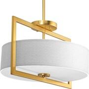 Progress Lighting Harmony 3 Light Semi Flush Mount; 11.25'' x 20''