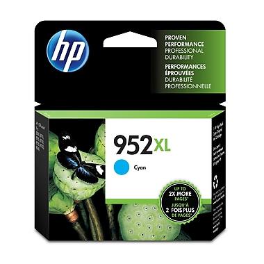 HP - Cartouche d'encre cyan 952XL, haut rendement, (L0S61AN#140)