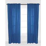 Bacati Mix N Match Pin Dots Curtain Panel; Turquoise