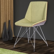 Armen Living Pandora Parsons Chair; Green