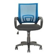 dCOR design Workspace Mid-Back Mesh Task Chair; Process Blue