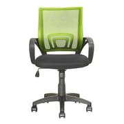 dCOR design Workspace Mid-Back Mesh Task Chair; Lime Green