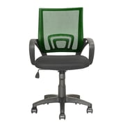 dCOR design Workspace Mid-Back Mesh Task Chair; Forest Green
