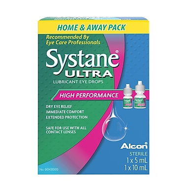 Systane Ultra 5ml + 10ml Eye Drops, (14310013)