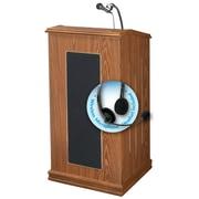 Oklahoma Sound Prestige Sound Lectern, Medium Oak (711-MO/LWM-7)