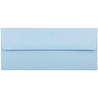 JAM Paper® #10 Business Envelopes, 4 1/8 x 9 1/2, Baby Blue, 25/pack (2155778)