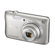 Nikon COOLPIX S3700 20.1MP 8x Optical Zoom Digital Camera w/ Wi-Fi & NFC - Refurbished