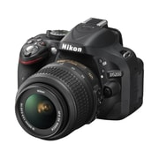 Nikon D5200 24.1MP DSLR Camera with 18-55mm VR II Lens Kit - Factory Refurbished