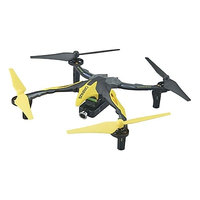 Dromida Ominus FPV UAV Quadcopter RTF, Yellow With Live View Video Camera