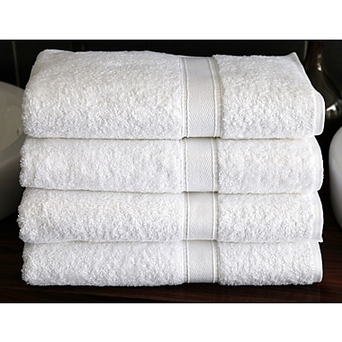 Linum Home Textiles Luxury Hotel & Spa Turkish Cotton 4 Piece Bath Towel Set (Set of 4)