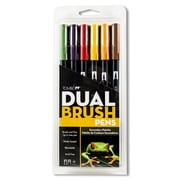 American Tombow Dual Brush Primary Colors Pen Set (Set of 6)