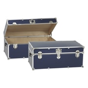 Buyers Choice Artisans Domestic Heirloom Steamer Trunk; Navy