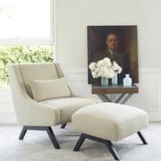 angelo:HOME Robb Upholstered Lounge Chair & Ottoman