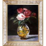 Tori Home Bouquet of Flowers by Edouard Manet Graphic Art on Canvas