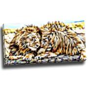 DesignArt Soul Mates Graphic Art on Wrapped Canvas