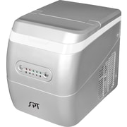 Sunpentown 11'' W 26 lb. Portable Ice Maker; Silver