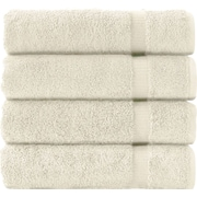Makroteks Textile L.L.C. Cambridge Bath Towel (Set of 4); Ivory