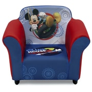 Delta Children Disney Mickey Mouse Kids Plastic Frame Upholstered Chair