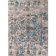 Well Woven Sydney Sheffield Traditional Blue Area Rug; 5'3'' x 7'3''