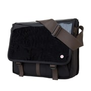 Token Metropolitan Enamel Dj Bag Medium Black (TK-454-E BLK)