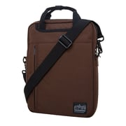 "Manhattan Portage Commuter Jr. Laptop Bag 13"" Black Label Dark Brown (1710-BL DBR)"