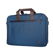 Token Lawrence Laptop Bag Large With Back Zipper Navy (TK-445Z NVY)