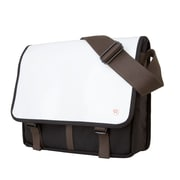 Token Metropolitan Enamel Dj Bag Medium White (TK-454-E WHT)