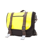 Token Lorimer Matte Vinyl Messenger Bag Medium Yellow (TK-614-MT YEL)