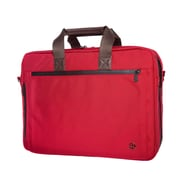 Token Lawrence Laptop Bag Large With Back Zipper Red (TK-445Z RED)