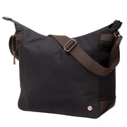 Token Riverside Waxed Shoulder Bag Black (TK-400-WX BLK)