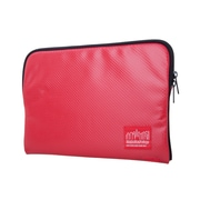 """Manhattan Portage Vinyl Laptop Sleeve 10"""" Red (1031-VL RED)"""