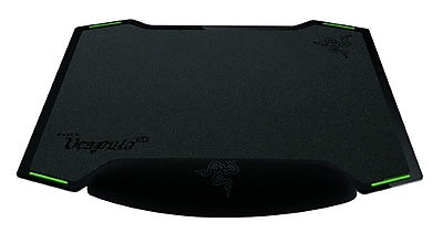 Razer Vespula Gel 1261 x 1024 Black Dual-Sided Gaming Mouse Mat, RZ02-00320100-R3M