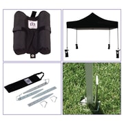 Impact Canopies Pop Up Canopy Weight Bag Stake Down Kit