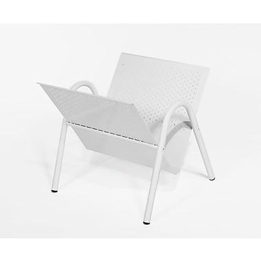 Monarch – Porte-revues, métal blanc, (I 2039)