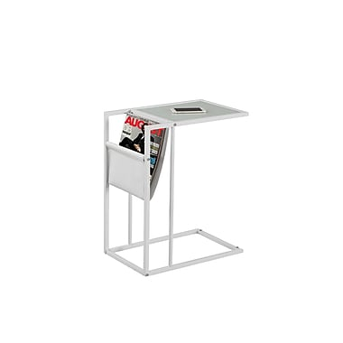 Monarch Accent Table, White (I 3067)