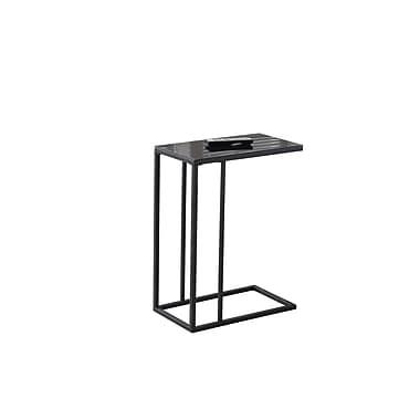 Monarch Accent Table, Black (I 3087)