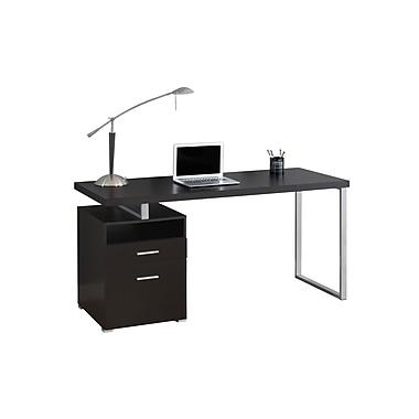 Monarch – Bureau d'ordinateur, brun