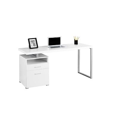 Monarch Computer Desk, White