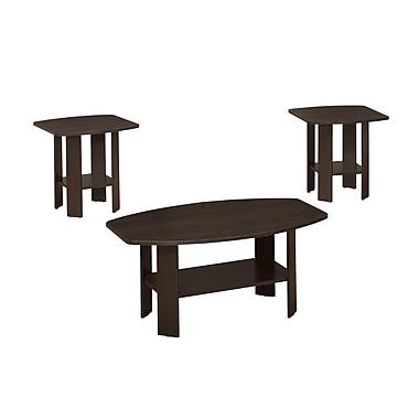 Monarch –Table d'appoint ensemble 3 pièces (I 7924P)