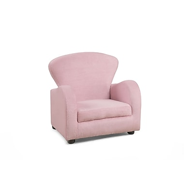 Monarch Fuzzy Juvenile Chair, Pink (I 8142)