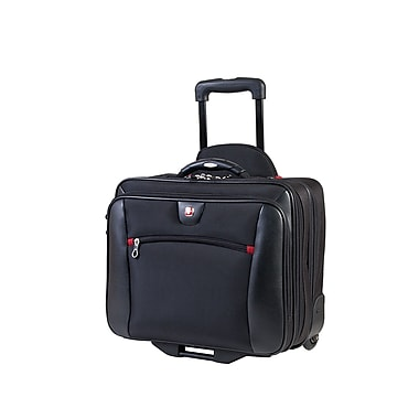 Swiss Gear (SWA0990) 2 in 1 Deluxe Business Traveler with removable portfolio, Black
