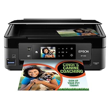 Epson – Imprimante à jet d'encre sans fil Expression® Home XP-430 Small-in-One® (C11CE59201)