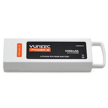 Yuneec – Pile 3S Lipo 5400 mAh à 3 cellules pour quadricoptère Q500 (YUNQ500105), blanc
