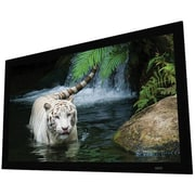 """84"""" EluneVision Reference Studio White Fixed-Frame Projector Screen, (EV-F3-84-10)"""