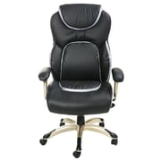 Merax High-Back Leather Executive Office Chair; Black